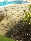 PEONY SUPPORTS - LARGE AND SMALL, GREEN OR BARE METAL, SINGLES OR MULTIPACKS