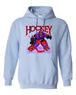 Gildan Hooded Hoodie Pullover Sweatshirt Sports Hockey Player Goal Goalie Design