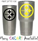 Pittsburgh Steelers Football Decal for NFL YETI Tumbler 20 30 Ozark RTIC Sticker $2.47 USD on eBay