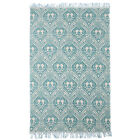 NEW Quinn Hand Loomed Flatweave Pure Cotton Rug Network Rugs