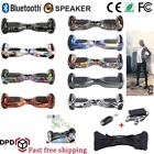 """Hoverboard 6.5"""" Speaker Balance Luci LED Overboard Monopattino Scooter 13colore★"""