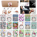 Fashion Flamingo Finger Grip Rotating Ring Metal Stand Holder For Mobile Phone