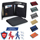 RFID - Rainbow of California Made in USA Tri-Fold Wallet Nylon Water Resistant