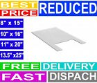 PLASTIC VEST CARRIER BAGS WHITE *ALL SIZES*  SUPERMARKETS TAKEAWAY STALLS SHOPS