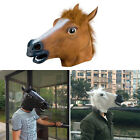 Cosplay Halloween Horse Head Mask Latex Animal ZOO Party Costume Prop Toys GUT