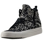 Converse Ctas Selene Winter Knit Womens Black Textile Casual Trainers Lace-up