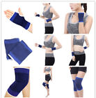 1Pair Fashion Sport Elastic Wrist Knee Protector Brace Support Wrap Gym Band #