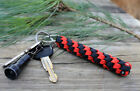 550 Paracord Twist Braid Key Ring Fob