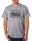 USA Made Bayside T-shirt Sibling I Am Middle Child Reason Have Rules