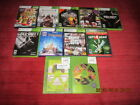 Lot of 9 Preowned XBOX 360 Games Battlefield 3, Call of Duty, Grand Theft Auto