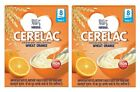 Nestlé Cerelac Fortified Baby Cereal with Milk – 8 Months+, Stage 2, Wheat Orang