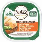 NUTRO Petite Eats Chef Inspired Chicken Entrée Cuts in Gravy, Adult Dog Food