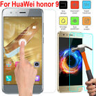 1/2/5PCS For Huawei Honor 9 Tempered Glass Shockproof Screen Protector Film WIS1