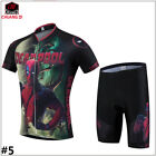 Men's Bike Bicycle Clothing Jerseys And Shorts Set Short Sleeve Sports Clothing