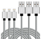LONG 10FT 3PK Braided iPhone Charger Charging Cord Heavy Duty Lighting Cable New