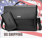 mens leather handbags - New Business Men's Leather Handbag Briefcase Bag Laptop Shoulder Bags