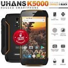 "UHANS K5000 5"" HD Dual SIM 3GB+32GB Octa Core 4G IP68 Android Rugged Smartphone"