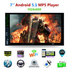 android mp3 players with wifi - 7'' GPS HD MP5 Player USB2.0 AM/FM/RDS Car Radio 3G WIFI Download Android 5.1
