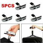 2/5/10X Portable 50/10g Digital LCD Electronic Luggage Hanging Weight Scale LOT~