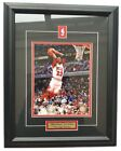 Michael Jordan Chicago Bulls Framed 50x40cm Large High Quality Picture Photo # 3