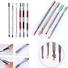 Nails Cuticle Pusher Remover Stainless Steel Nail Art  Tools  DIY