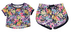 MY LITTLE PONY:MOVIE T SHIRT/SHORTS 3/4,4/5,5/6,7/8,9/10,11/12YR, NEW WITH TAGS