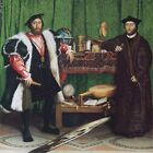 The Ambassadors, 1533 , HANS HOLBEIN THE YOUNGER (1497–1543), Art on Canvas