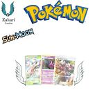 Sun & Moon Base Set GX Rainbow Ultra Secret Holo Rare Pokemon Trading Cards!