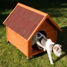 Spike Classic Dog Kennel With Pitched Roof, An Overhang + Height-Adjustable Feet