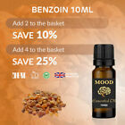 Essential Benzoin Oil Pure Oils Aromatherapy Natural Styrax Resin