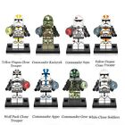 L.Go Super Heores Satr Wars White Clone Yellow Utapau Trooper  For Children Gift