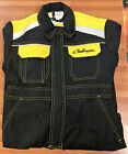 Challenger Kids Black And Yellow Overalls Workwear