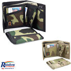 Made in USA Rainbow of California Camouglage Bifold Mens Wallet Water Resistant image