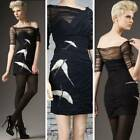 FOLEY & CORINNA Tulle Wrapped Sexy evening Bird Dress XS MSRP $410 NWT
