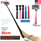 Monopod Selfie Stick Telescopic Bluetooth Wireless Remote for iPhone 5 5s 5c 6s