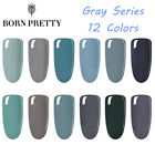5/10ML 12 Colors Gray Series UV LED Nail Gel Polish Manicure Decor BORN PRETTY $1.29 USD