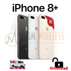 NEW Apple iPhone 8 Plus 64GB A1897, Unlocked SPACE GRAY GOLD SILVER RED