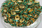 Lots 50/100X 8mm Spacer Loose Beads Charm Jewelry Making Supplies Decor DIY
