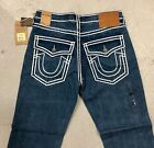 True Religion Brand New Men's Denim Jeans Rope Stitch New w/ Tags Free Shipping