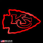 Kansas City Chiefs logo Vinyl Sticker Car Laptop Room window Decal football NFL on eBay