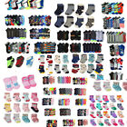 Внешний вид - Lot of 12 pair Kid Crew Ankle Socks Toddler Boy Girl Casual Multi Color Size 0-8