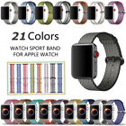 Woven Nylon Sport Loop iWatch Band Strap Bracelet For Apple Watch Series 3/2/1