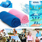 Gym Towels Coolcore Ice Cold Running Workout Fitness Yoga Pilates Cooling Towel  image