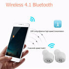 True Wireless Earphone Stereo Bluetooth Heatset Headphone Voice Prompt Earbuds ~