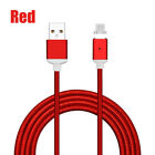 3~10FT 2.4A Fast Charging Magnetic Micro USB Charger Transfer Cable for Samsung