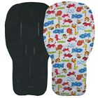 Jillyraff Reversible Seat Liners to fit Bugaboo pushchairs - Black Designs