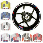 Motorcycle High Quality Wheel Rim Decals Stickers For Honda CBR600RR 900RR 954RR image