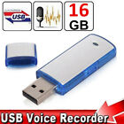 SPY Mini 8/16/32GB USB Disk Pen Drive Digital Audio Voice Recorder Recording US фото