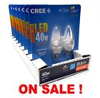 cree 5w - 16 Bulbs CREE LED 5W Soft White CANDELABRA DIMMABLE 2700K Led Candle Light Bulb