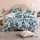 NEW Squiggly Gum Cotton Quilt Cover Set Linen House Quilt Covers